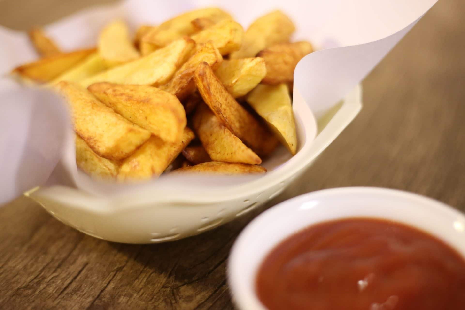 burgonya ketchup
