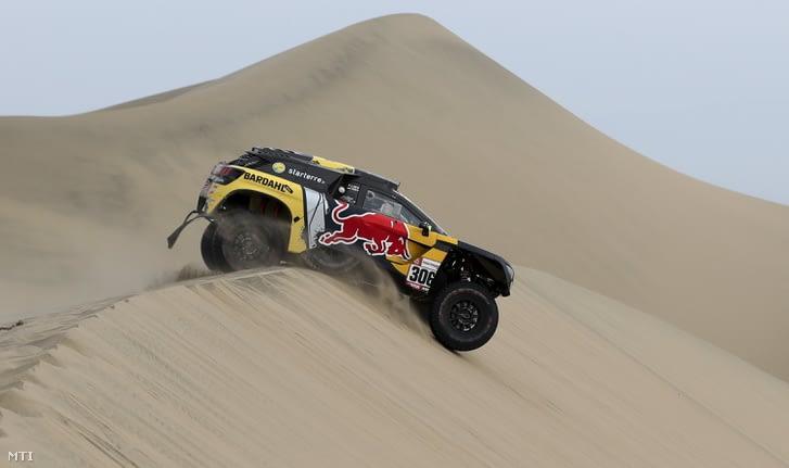 Loeb és Elena a 2019-es Dakar-ralin