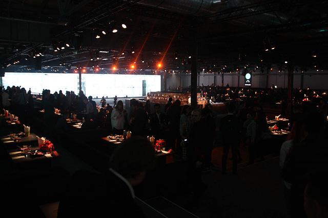 Ez volt a legbelső terem, ahol 800 asztal talán nincs is, de azért elég brutális volt a felhozatal