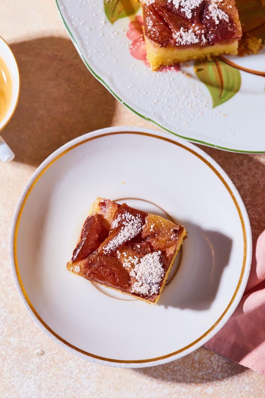 Szilvabefőttes-pudingporos kevert süti
