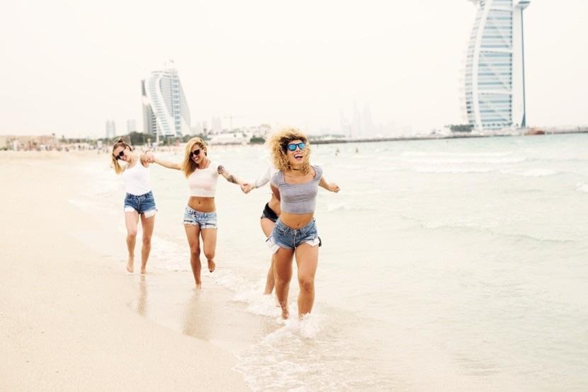 Az idősebb gyerekek beleszeretnek Dubajba